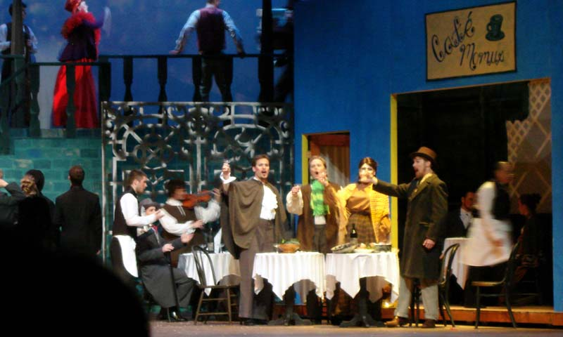 La Boheme - The University of Minnesota - Minneapolis, Minn.